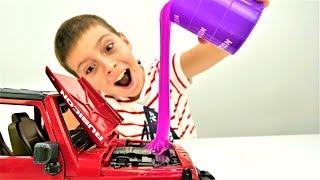 Мультики про машинки. Ремонтируем Джип. Игры для мальчиков с машинками