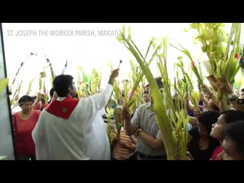 Palm Sunday in the Philippines