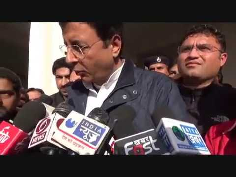 Jind Congress Candidate Randeep Surjewala Interview Watch Live