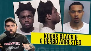 Kodak Black & G Herbo ARRESTED. Akademiks VS Ebro!