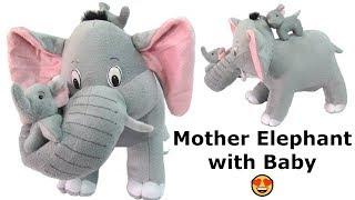 Stuffed Elephant on Amazon India Jumbo Elephant Toy Mommy Elephant And Baby Elephant