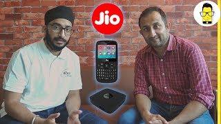 What is Jio Phone, Jio Fiber and Jio TV | Hinglish
