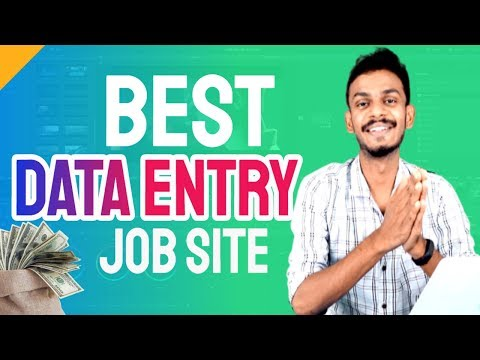 best data entry jobs site - direct Indian bank withdrawal