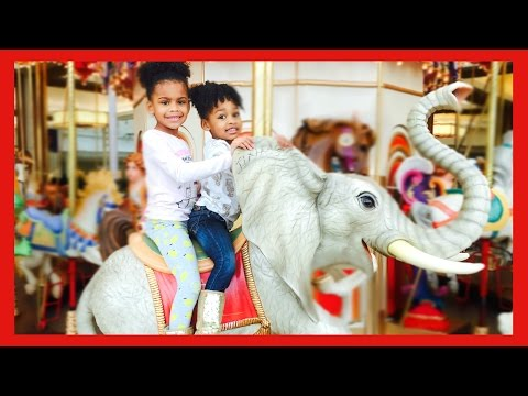 Thumbnail: Indoor Playground Family Fun for Kids Play Center - Giant Ride-On Naiah Elli