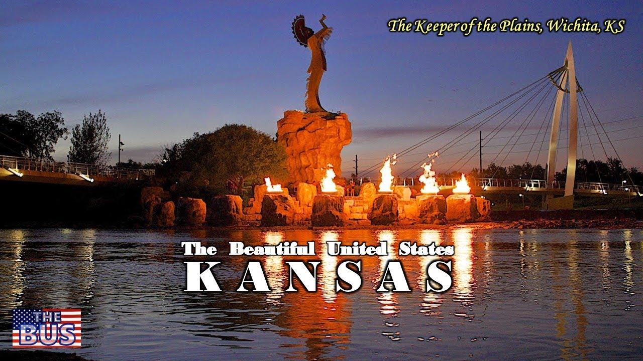 Usa Kansas State Symbolsbeautiful Placessong Home On The Range W