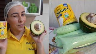O melhor geladinho de abacate com leite ninho