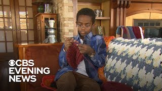 11-year-old crochet wiz now giving his own lessons