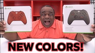 NEW Xbox One Controllers UNBOXING! [THE COLORS!]