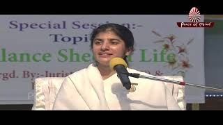 भाग्य हाथों की लकीरों में नहीं, भाग्य लिखने की कलम आपके हाथों में हैं... | BK Shivani (Hindi)