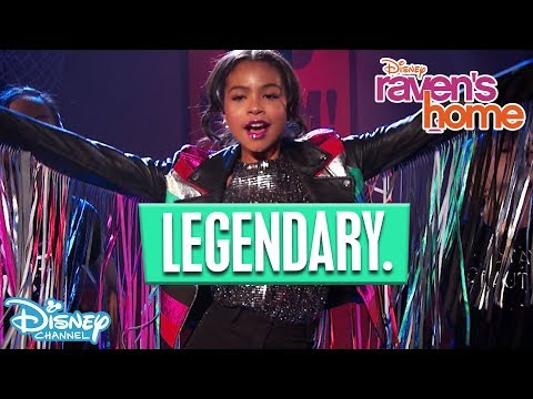 Legendary | Music Video | Raven's Home | Disney Arabia