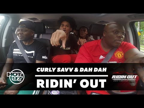 Curly Savv & Dah Dah Freestyle on Ridin Out' w/ DJ Magic