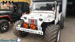 Dabwali Jeep Market// Open Jeep Modified Mandi Dabwali// By Mix And Mix^: