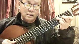 Một Đời Tan Vỡ (Lam Phương) - Guitar Cover by Hoàng Bảo Tuấn