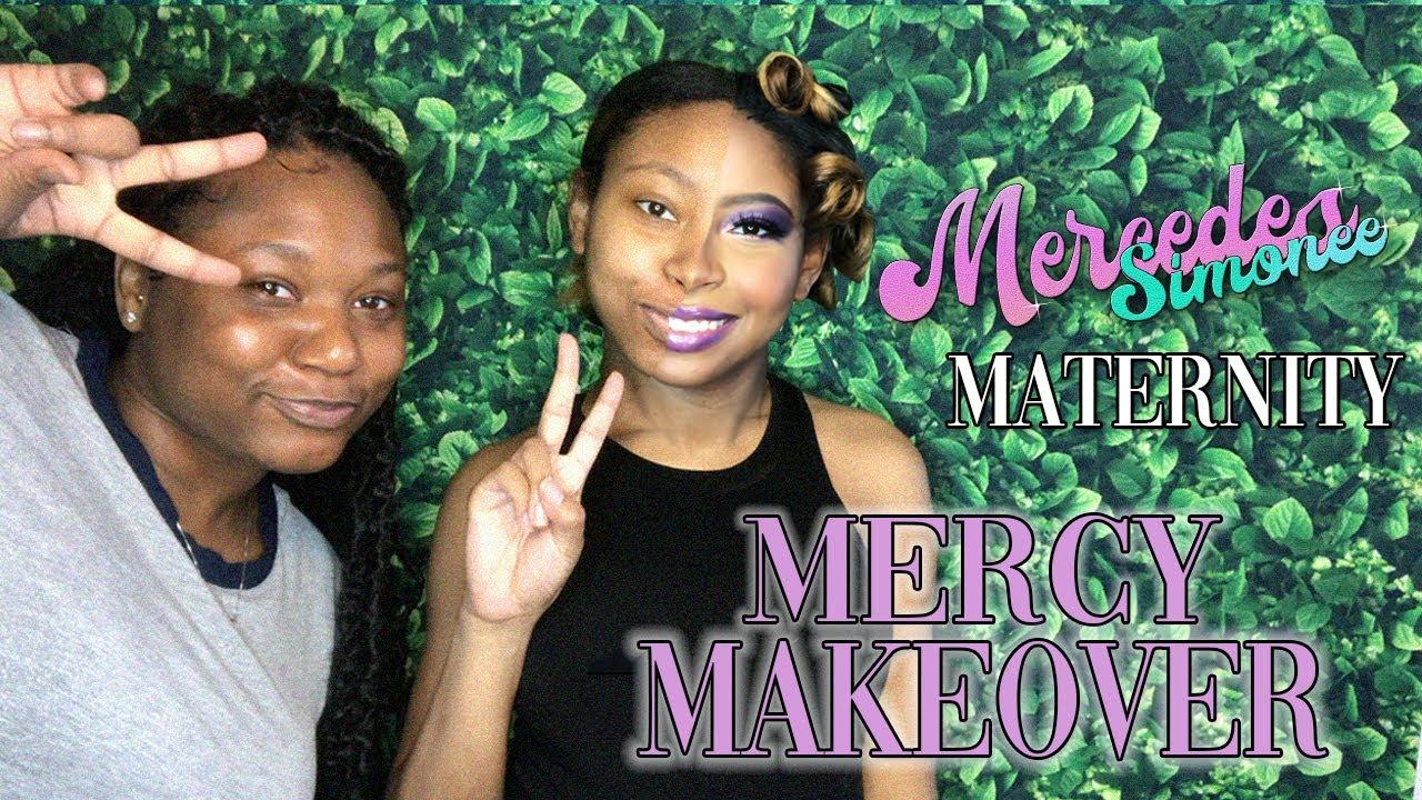 Mommies, Maternity, and Make-up (Purple Smokey Eye)
