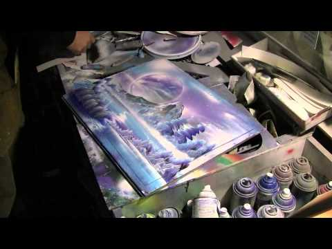 Key West Spray Paint Artist – Martin Romero