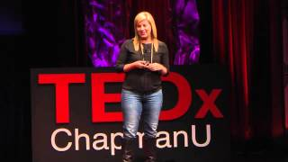 Social Media- Sucking Time or Saving Lives: Kristen Howerton at TEDxChapmanU