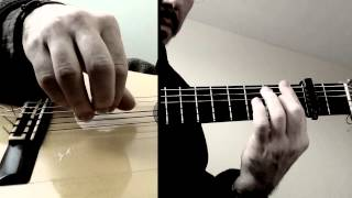 Free Stroke Exercise - 1 (Solea by Paco de Lucia)