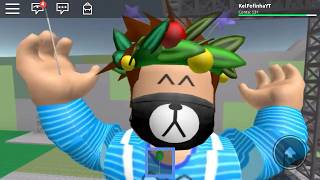 I TURNED A BININO AT THE ROBLOX KKKK 💙