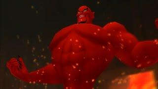 Kingdom Hearts: Jafar, Genie Form Boss Fight (PS3 1080p)