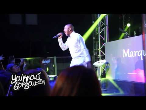 Marques Houston Performing