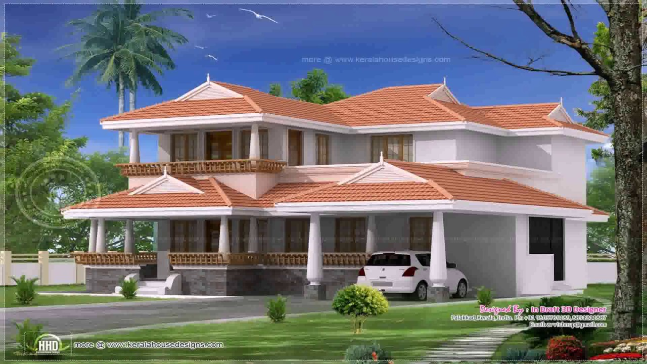 4 bedroom traditional kerala house design for Kerala home plans 4 bedroom
