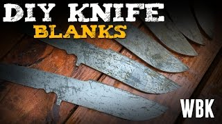 How to make a knife: Cutting a blank