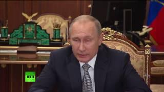 Заявление Владимира Путина по убийству российского посла в Анкаре