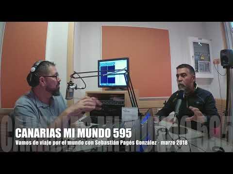 Alexis Hernández presenta a Sebastián Pagés en 'Canarias mi mundo' nº595