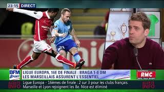 After Foot du jeudi 22/02 – Partie 1/3 - Débrief de Braga/OM (1-0)