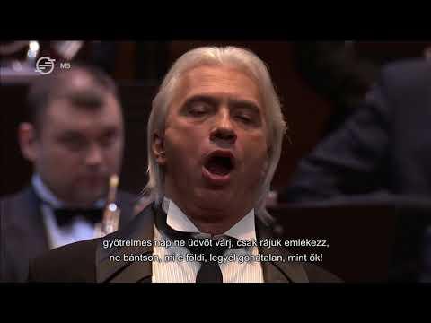 Dmitri Hvorostovsky in Budapest - Anton Rubinstein: The Demon (2016 MÜPA)