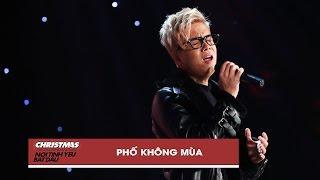 pho khong mua - bui anh tuan  christmas live concert official video