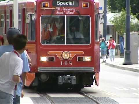 PACIFIC ELECTRIC RAILWAY IN 2000