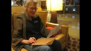 Judith Roberts private signing at The Marriott Hotel Son of Monsterpalooza October 29, 2012