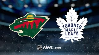 Andersen, Maple Leafs double up Wild, 4-2