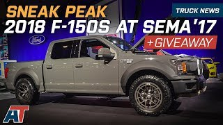 SEMA 2017 – Sneak Peak Of The Top 2018 Ford F150s At SEMA 2017
