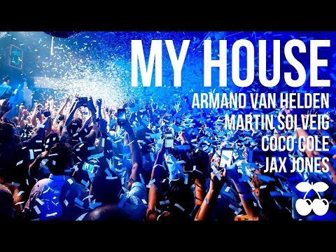PACHA IBIZA 2017 - MY HOUSE Martin Solveig, Jax Jones, Armand Van Helden, Coco Cole SUMMER 2017
