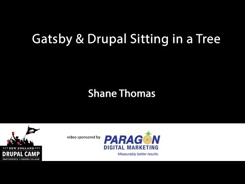Gatsby & Drupal Sitting in a Tree thumbnail