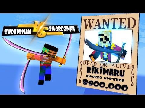 SEASON 4 PART 4   SWORDSMAN VS SWORDSMAN MONSTER SCHOOL AND THE 7 EMPEROR   Minecraft Animations