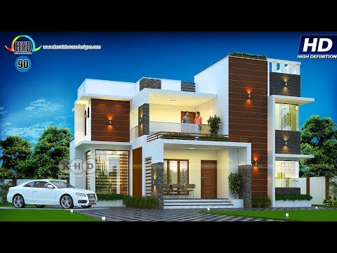 Best 100 House Designs Of October 2018 Youtube