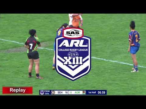 Sir Edmond Hillary v Aorere Girls 9 Final 1st half