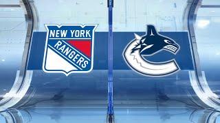 NHL Highlights   Rangers vs Canucks – Jan. 4, 2020