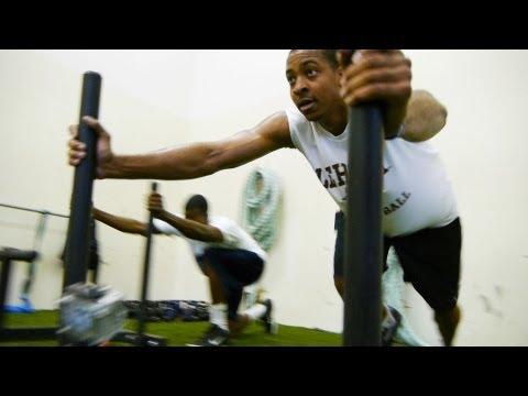 CRAZY NBA WORKOUT - Portland Trail Blazers' CJ McCollum Part 1   D24 Sports