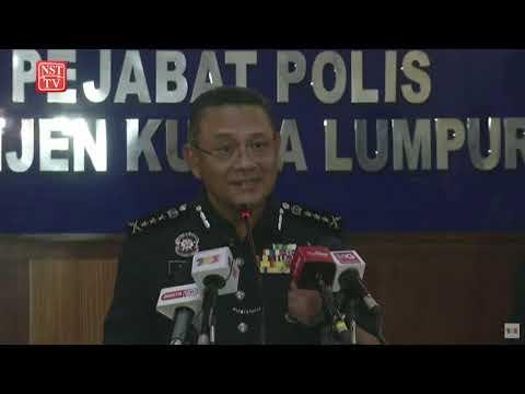 [Langsung] Sidang media Ketua Polis Kuala Lumpur Datuk Saiful Azly Kamaruddin