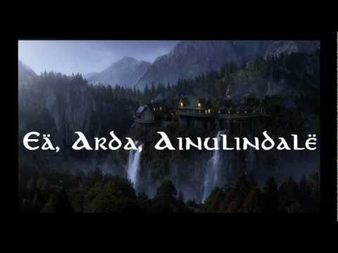 Lord of the Rings- Quenya Elvish