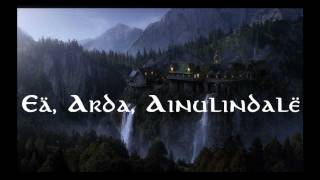 Repeat youtube video Lord of the Rings- Quenya Elvish
