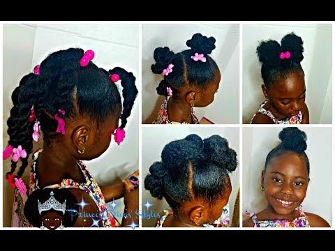 4 Trendy Girls Hairstyles Natural Pride