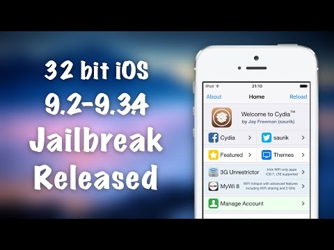 32 bit Jailbreaks are back?! iOS 9.3.4 Jailbreak for iPhone 4S, 5, 5C Released + Tutorial