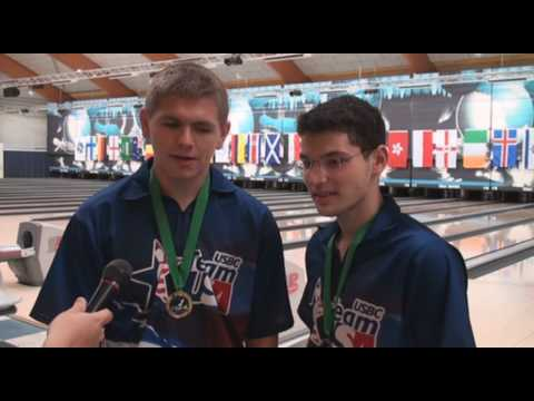 Junior Team USA wins gold, silver in doubles