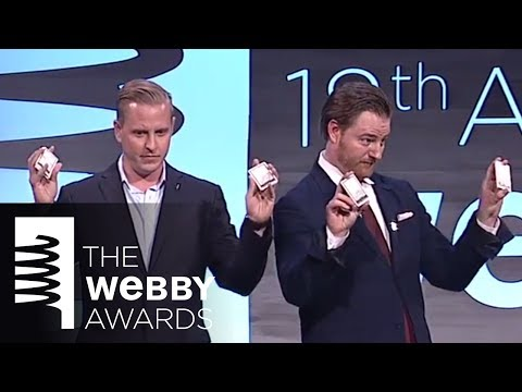 The Creative Artists Agency's 5-word speech at the 18th Annual Webby Awards