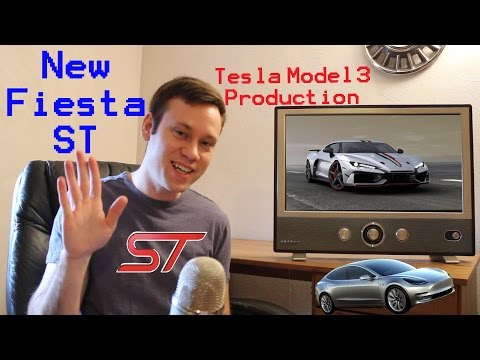 New Fiesta ST, Tesla Model 3 Production and Other News! Weekly Update